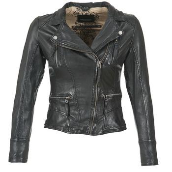 Oblačila Ženske Usnjene jakne & Sintetične jakne Oakwood CAMERA Črna