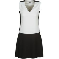 Oblačila Ženske Kratke obleke Joseph DORIA Črna / Bela