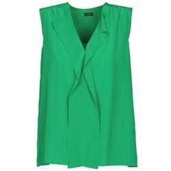 Oblačila Ženske Majice brez rokavov Joseph DANTE Zelena