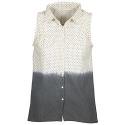 Oblačila Ženske Srajce & Bluze Teddy Smith CAMILLE Modra / Kremno bela