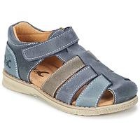 Čevlji  Dečki Sandali & Odprti čevlji Citrouille et Compagnie FRINOUI Siva
