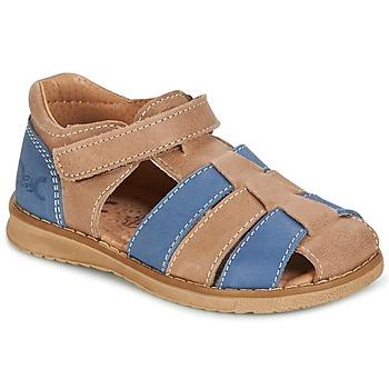Čevlji  Dečki Sandali & Odprti čevlji Citrouille et Compagnie FRINOUI Kostanjeva / Modra