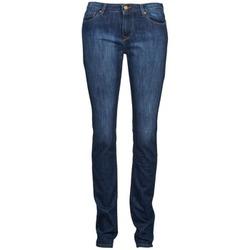 Oblačila Ženske Jeans straight Acquaverde NEW GRETTA Modra