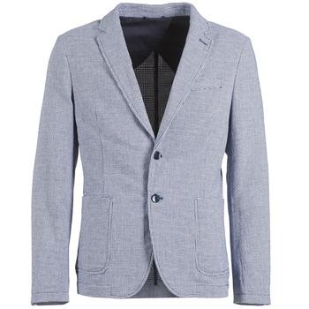 Oblačila Moški Jakne & Blazerji Benetton CHEVOTU Modra