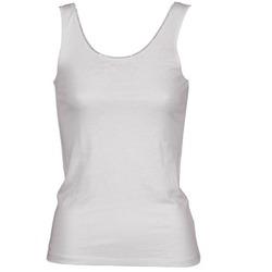 Oblačila Ženske Majice brez rokavov Majestic 701 Bela
