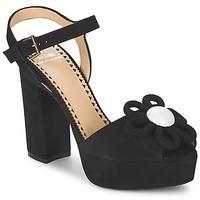 Čevlji  Ženske Sandali & Odprti čevlji Moschino Cheap & CHIC CA1617 Črna
