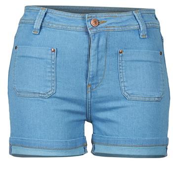 Oblačila Ženske Kratke hlače & Bermuda School Rag SUN Modra