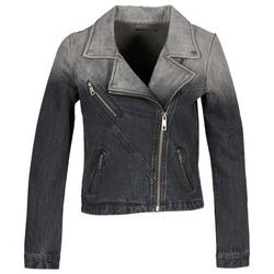 Oblačila Ženske Jeans jakne Volcom DENIMES Črna