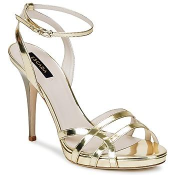 Čevlji  Ženske Sandali & Odprti čevlji Escada AS683 Pozlačena