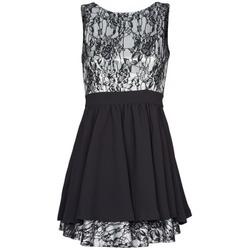 Oblačila Ženske Kratke obleke Manoukian 612539 Črna