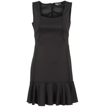 Oblačila Ženske Kratke obleke Manoukian 612936 Črna