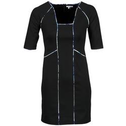 Oblačila Ženske Kratke obleke Manoukian 613369 Črna