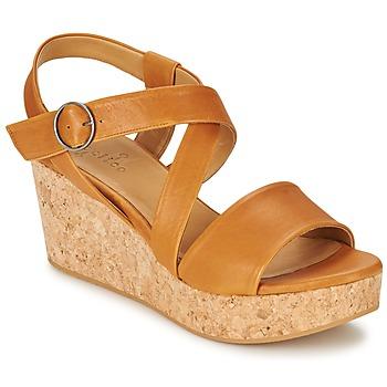 Čevlji  Ženske Sandali & Odprti čevlji Coclico MEL Kamel
