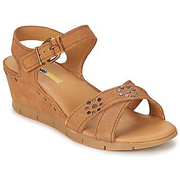 Čevlji  Ženske Sandali & Odprti čevlji Manas  Kamel