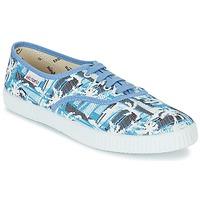 Čevlji  Nizke superge Victoria INGLES PALMERAS Modra