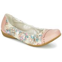 Čevlji  Ženske Balerinke Dkode FARIS Rožnata