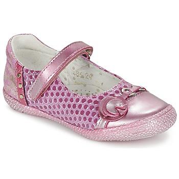 Čevlji  Deklice Balerinke Babybotte KAYLINE Rožnata