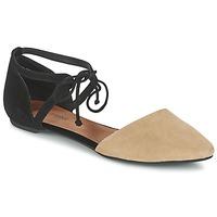 Čevlji  Ženske Sandali & Odprti čevlji Jeffrey Campbell ENAMORED Bež / Črna