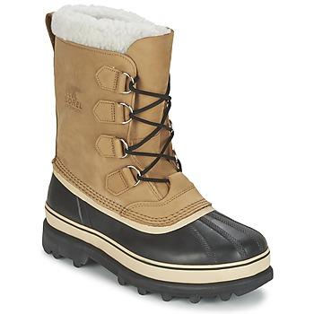 Čevlji  Moški Škornji za sneg Sorel CARIBOU Bež