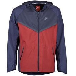 Oblačila Moški Vetrovke Nike TECH WINDRUNNER Rdeča / Siva