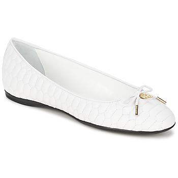 Čevlji  Ženske Balerinke Roberto Cavalli XPS151-PN119 Bela