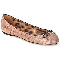 Čevlji  Ženske Balerinke Roberto Cavalli XPS151-UB043 Rožnata