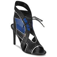 Čevlji  Ženske Sandali & Odprti čevlji Roberto Cavalli XPS254-PZ448 Črna / Modra