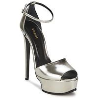 Čevlji  Ženske Sandali & Odprti čevlji Roberto Cavalli XPS260-PZ048 Siva / Srebrna