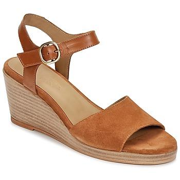 Čevlji  Ženske Sandali & Odprti čevlji n.d.c. LAS SALINAS Cognac