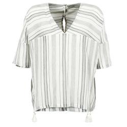 Oblačila Ženske Topi & Bluze Stella Forest OWONI Kremno bela / Siva