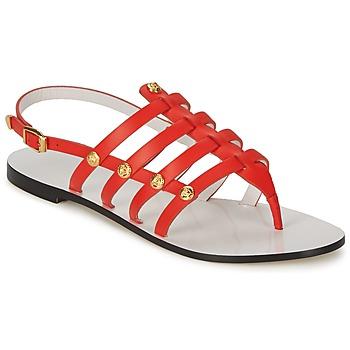 Čevlji  Ženske Sandali & Odprti čevlji Versace DSL944C Koralna