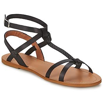 Čevlji  Ženske Sandali & Odprti čevlji So Size BEALO Črna