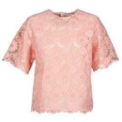 Oblačila Ženske Topi & Bluze Manoush AFRICAN BLOUSE Koralna