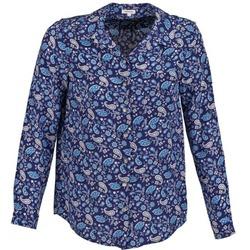Oblačila Ženske Srajce & Bluze Manoush BANDANA SILK Modra