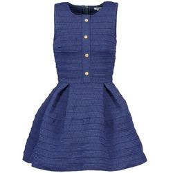 Oblačila Ženske Kratke obleke Manoush ELASTIC Modra