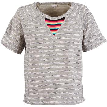Oblačila Ženske Puloverji Manoush ETNIC SWEAT Siva