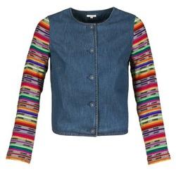 Oblačila Ženske Jakne & Blazerji Manoush INDIAN DENIM Modra