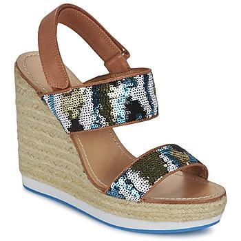 Čevlji  Ženske Sandali & Odprti čevlji Mellow Yellow VABLISS Modra