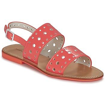 Čevlji  Ženske Sandali & Odprti čevlji Mellow Yellow VADINA Koralna