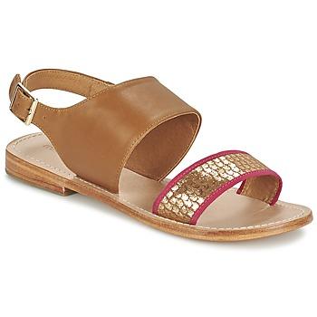 Čevlji  Ženske Sandali & Odprti čevlji Mellow Yellow VADELI Kamel