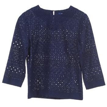 Oblačila Ženske Topi & Bluze Gant 431951 Modra