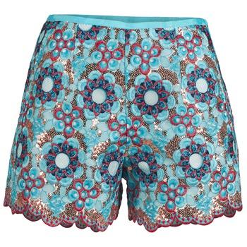 Oblačila Ženske Kratke hlače & Bermuda Manoush FRESQUE Modra