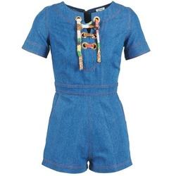 Oblačila Ženske Kombinezoni Manoush LACET Modra