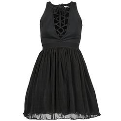 Oblačila Ženske Kratke obleke Manoush MARILACET Črna