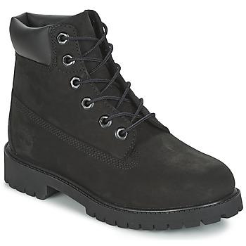 Čevlji  Otroci Polškornji Timberland 6 IN PREMIUM WP BOOT Črna