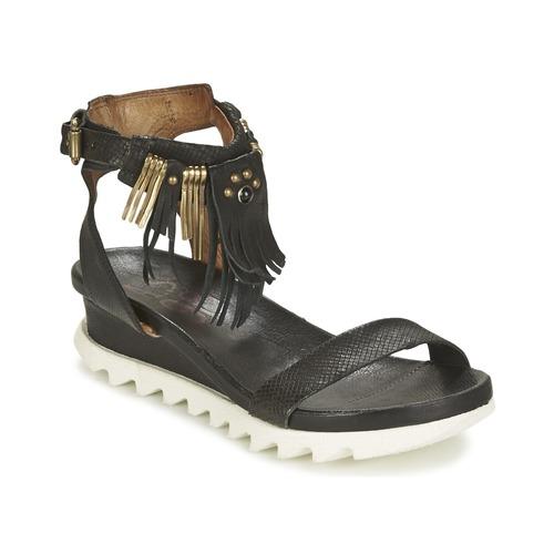 Čevlji  Ženske Sandali & Odprti čevlji Airstep / A.S.98 FLOOD Črna