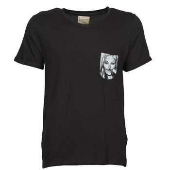 Oblačila Moški Majice s kratkimi rokavi Eleven Paris KMPOCK Črna