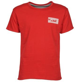 Oblačila Moški Majice s kratkimi rokavi Wati B WATI CREW Rdeča