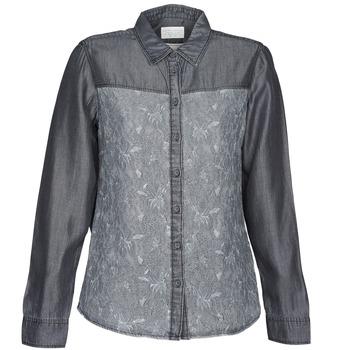 Oblačila Ženske Srajce & Bluze Esprit Denim Blouse Siva