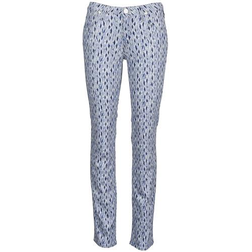 Oblačila Ženske Jeans straight Lee MARION STRAIGHT Modra